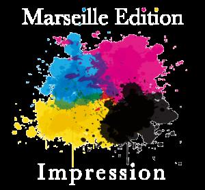 logo marseille edition impression blanc
